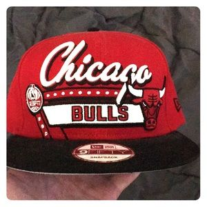 SnapBack collectors edition Bulls hat